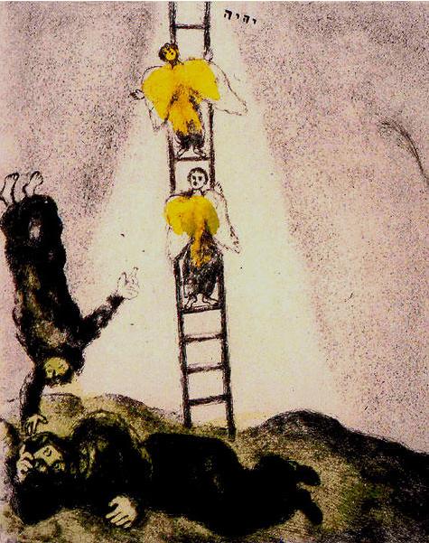 chagall-la scala di giacobbe